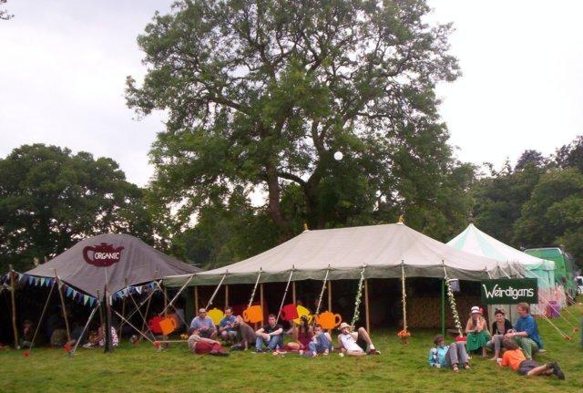Weirdigans Tent